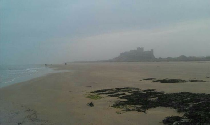 Bamburgh in the mist