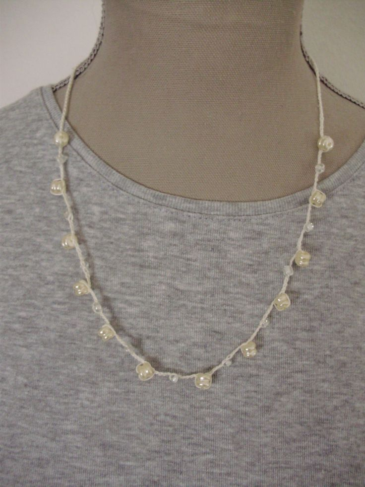 Perles et crochet
