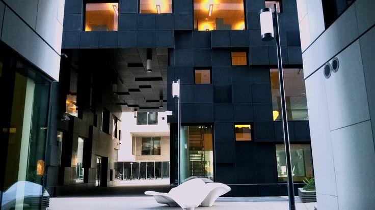 City shapes..Barcode Oslo..