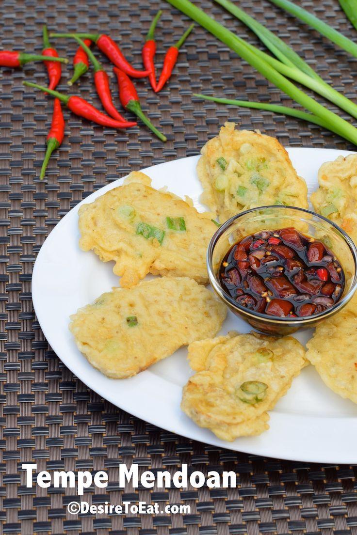 Tempe Mendoan (Indonesian Food) #tempeh #indonesianfood #tempe