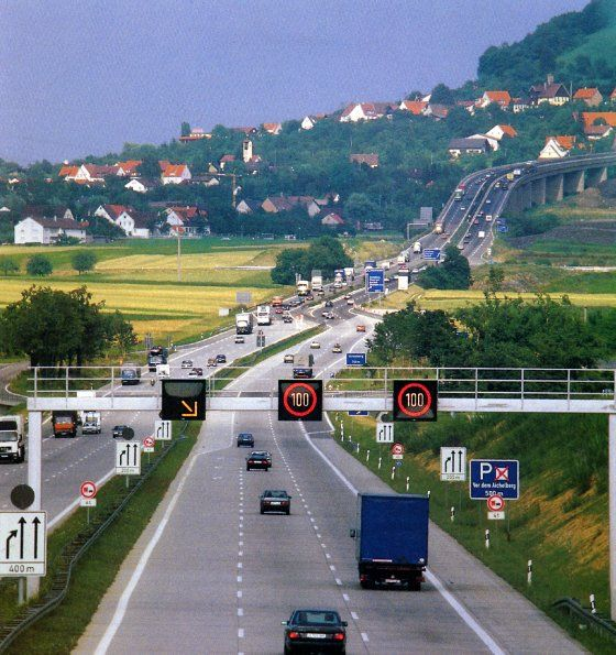 Driving On Germany's Autobahn - Germany