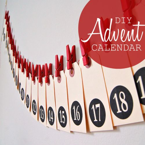 19 Awesome And Unusual DIY Advent Calendars | Shelterness