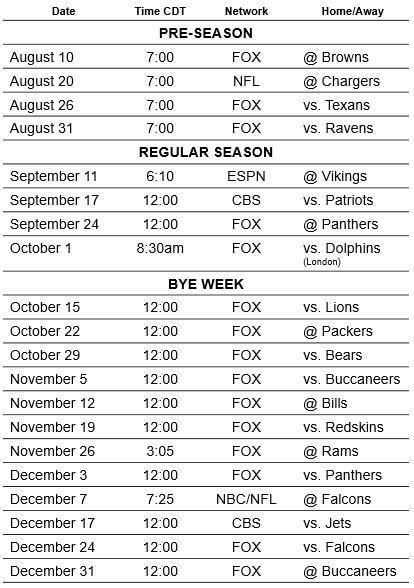 New Orleans Saints Season Schedule 2017  #NewOrleans #NOLA #Saints #NFLSchedule #JordinsTurf