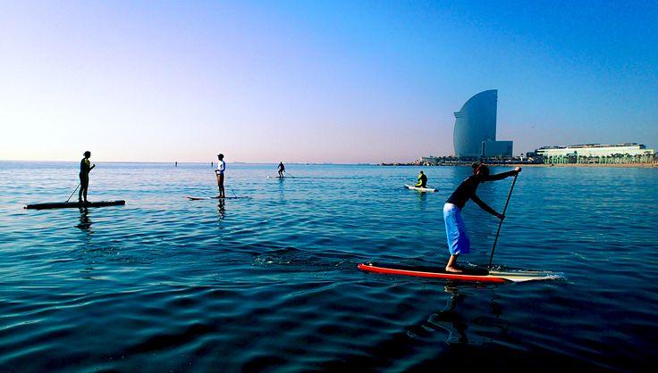 Molokaisupcenter | Actividades, cursos de paddle sup Barcelona