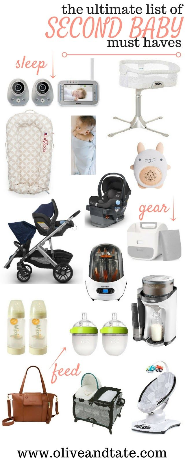The Ultimate List of Second Baby Must-Haves