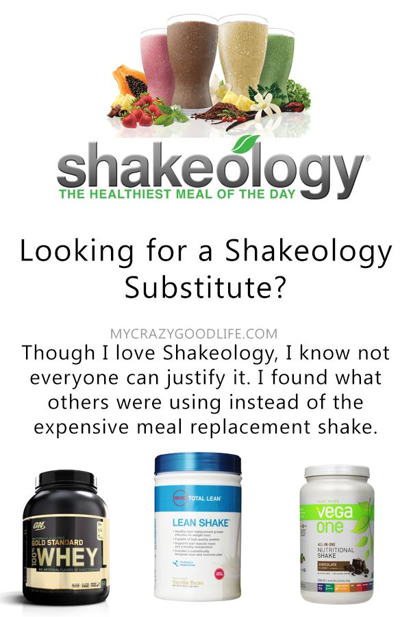 Looking for a Shakeology Substitute? While I love Shakeology, I understand that it's not for everyone. Here are a few options for protein and meal replacement powders that people use instead of Shakeology.