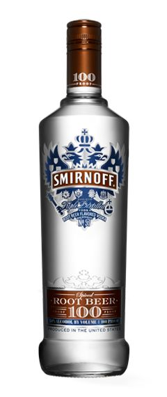 Smirnoff Spiced Root Beer is a spicy and sweet take on flavoredvodka. Infused with vanilla and sarsaparilla notes, Smirnoff's 100proof Spiced Root Beer delivers a bold root beer flavor that can beenjoyed straight or mixed with soda to liven up a staplecocktail.