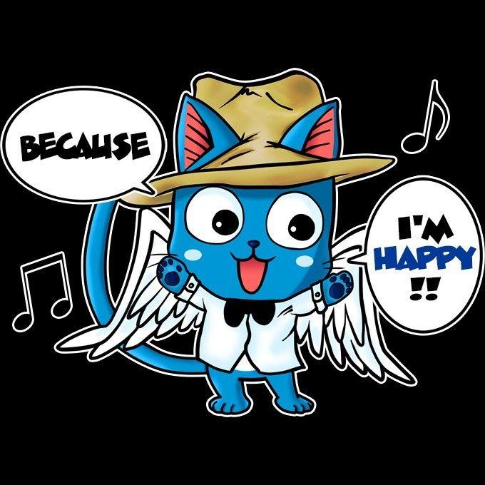 T-shirt femme - Happy Williams :) inspiré de Fairy Tail