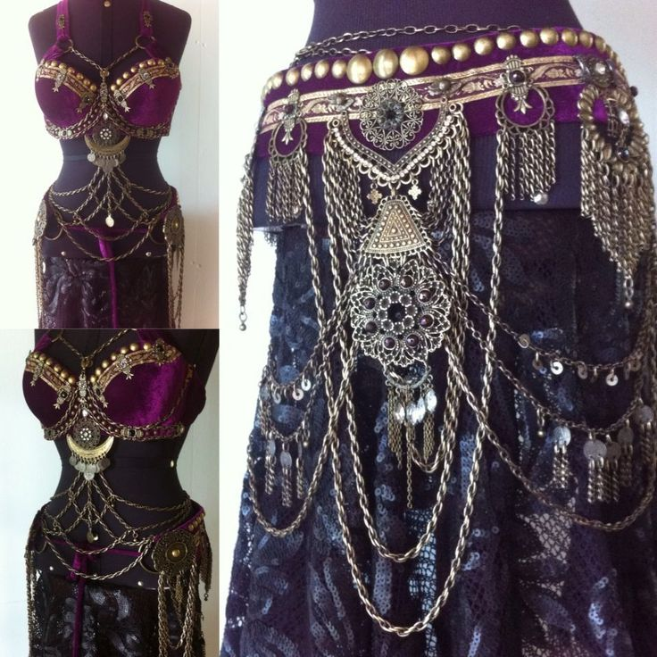 Tribal Fusion Line #BellyDancingCostumes