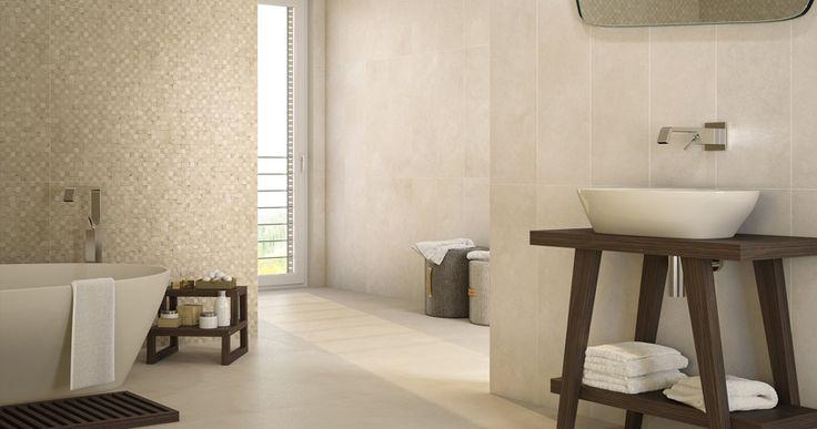 Saloni Intro Marfil Amp Mosaico Marfil 12x36 Wall Tile