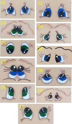 Augen-Vorlage