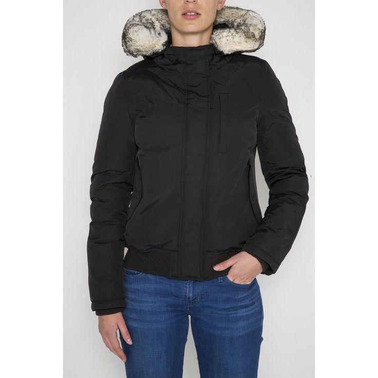 Blousons Femme Schott : JKT FREYA 4 W (parka courte) à acheter directement sur la boutique officielle Schott.