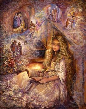 DeviantArt: More Collections Like Art by Josephine Wall_1 by Basset0410
