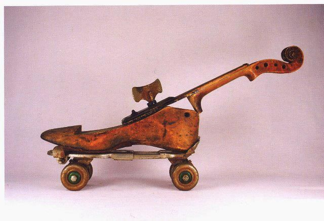 Do you know the story of Paganini's Shoe Violin?  http://martinswanviolins.com/sales/paganinis-shoe-violin/  Photo via Martin Swan Violins