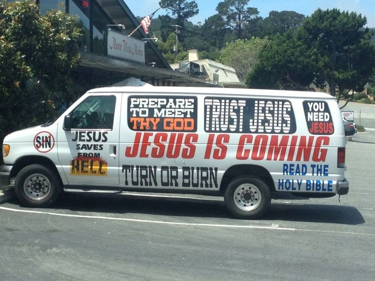This Van Changed My Views God Must Be Real If He Took The Time For Mobile Advertising