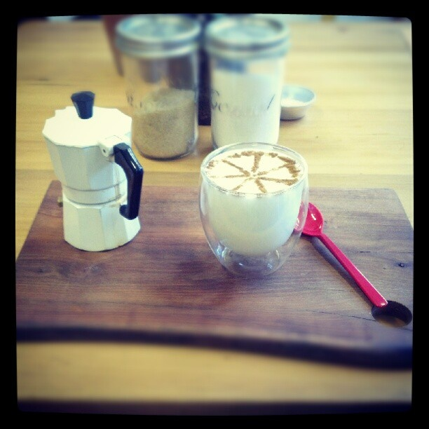 Great coffee at @Starlingandhero