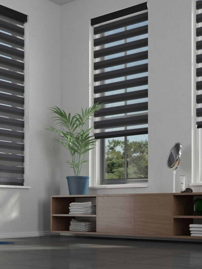 Duo Roller Lustre Graphite Blind