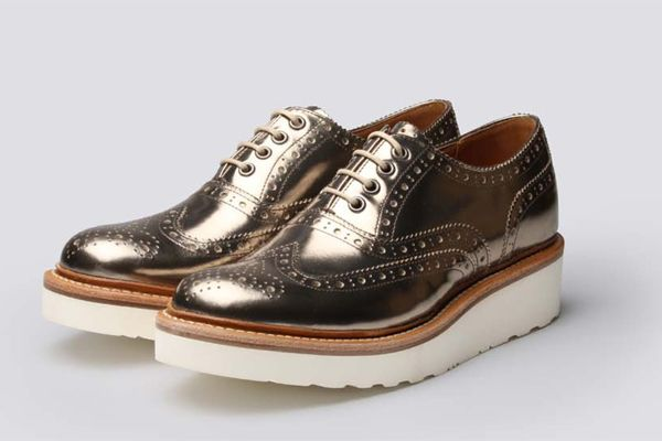 Grenson Shoes Spring 2014 - Handmade Leather Oxfords