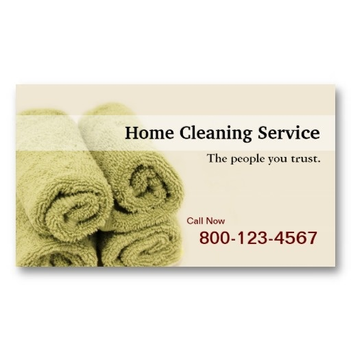 20 best House Cleaning Business Cards images on Pinterest ...