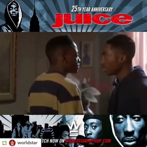 You gotta get ready to throw down, stand up and die for that shit, if you want some juice. #juice #tupac #2pac #tupacshakur #omarepps #hoodmovies #trap #movie #actor #rapper #hiphop #rap #musician #dope #90s #lit #classic #vhs #25thanniversary