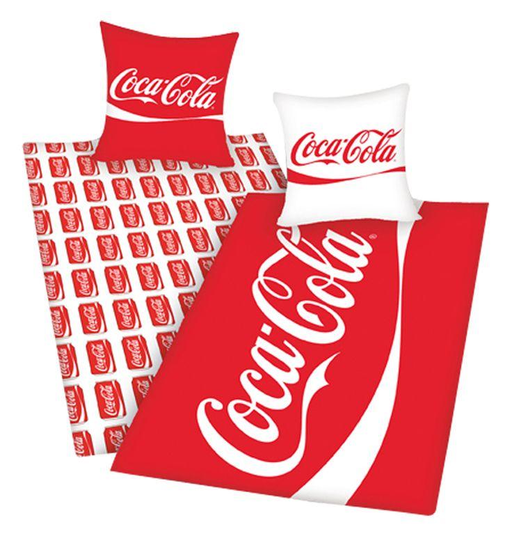 Coca-Cola Reversable Duvet Cover Set