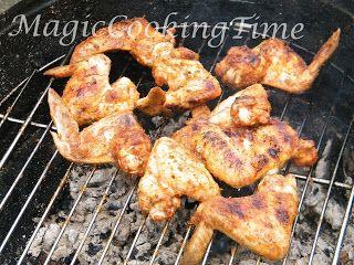 Magic Cooking Time | Blog o gotowaniu: Skrzydełka z grilla