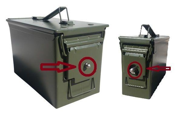 Ammo Can Locking Hardware Kit Ammo Cans Ammo Emergency Preparedness