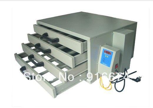 FAST Free shipping Silk Screen Printing Drying Cabinet Screen Dry Emulsion Dryer Equipment Machine T-shirt Printer