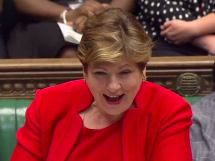"WATCH: Labour's Emily Thornberry tears into the government over Brexit - LONDON — Labour's Shadow Foreign Secretary Emily Thornberry has urged Theresa May's government to ""get a grip"" over Brexit and accused cabinet ministers of being in a mess over how to negotiate Britain's exit from the EU.  Speaking during today's Prime Minister's Questions, the Labour MP took aim at senior members of the Conservative front bench over the government's handling of Brexit, including May and Brexit…"