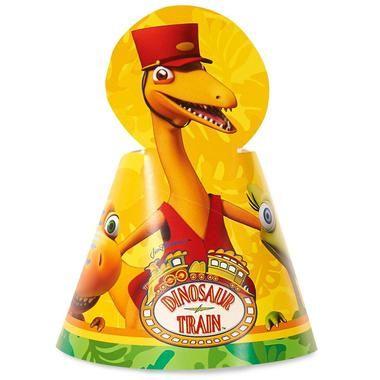 Dinosaur Train Cone Hats (8)