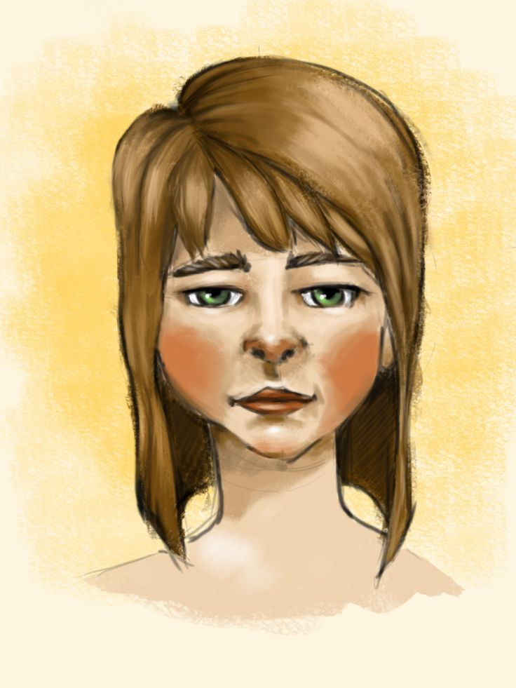 Digital painting. Painted with wacom tablet!