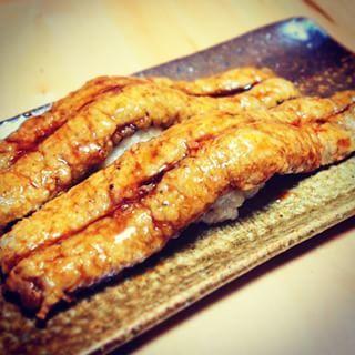 自家製ビーガン穴子寿司! Veganic conger sushi  #寿司 #sushi #veganic #vegan #veganicjp #vege #macrobiotic #veganfoodshare #tokyo  #sakukobo #さくちゃん工房 #ビーガン #ヴィーガン #ビーガニック #ベジタリアン #菜食 #素食 #マクロビオティック #板橋区 #大山