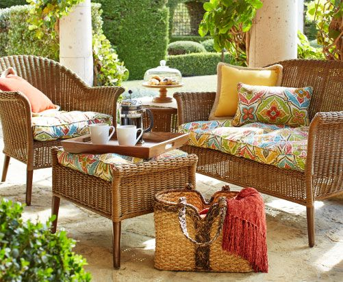 Pier One Outdoor Furniture Cushions