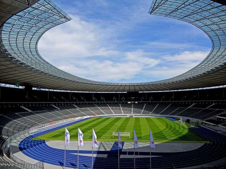 The Olympic Stadium in Berlin will host the Champions League Final 2015.