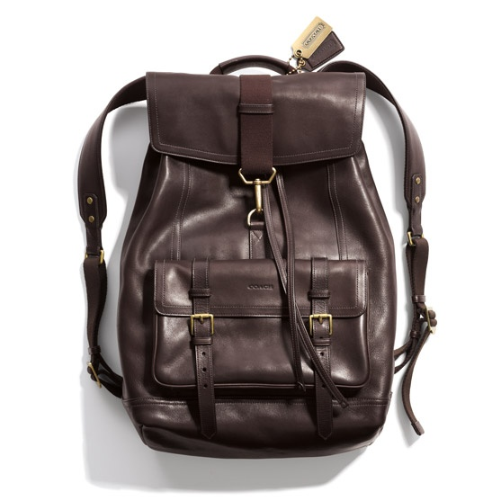 coach leather backpack outlet 226w  Bleeker Leather Backpack Coach backpack