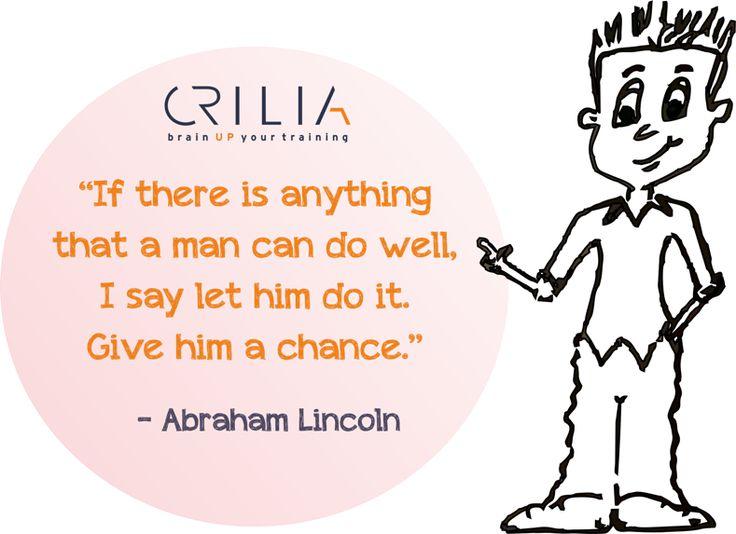 what a man can do well? www.crilia.ro