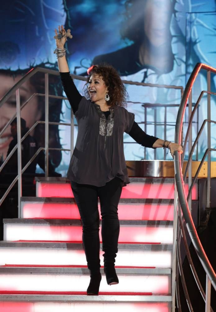 Sawalha reveals her quot hell quot in the house as she nadia sawalha