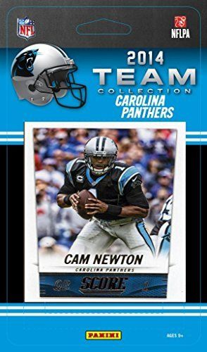 Carolina Panthers 2014 Score NFL Football Factory Sealed 9 Card Team Set with Cam Newton, Luke Kuechly, Kony Ealy Plus