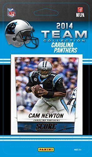 Carolina Panthers 2014 Score NFL Football Factory Sealed 9 Card Team Set with Cam Newton, Luke Kuechly, Kony Ealy Plus
