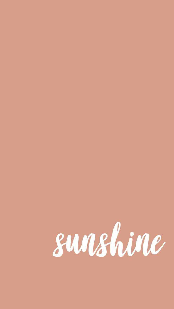 Give Me All The Sunshine Iphone Wallpaper Cute Wallpapers