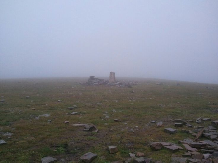 Cross Fell - 'view' from the top of the Pennines