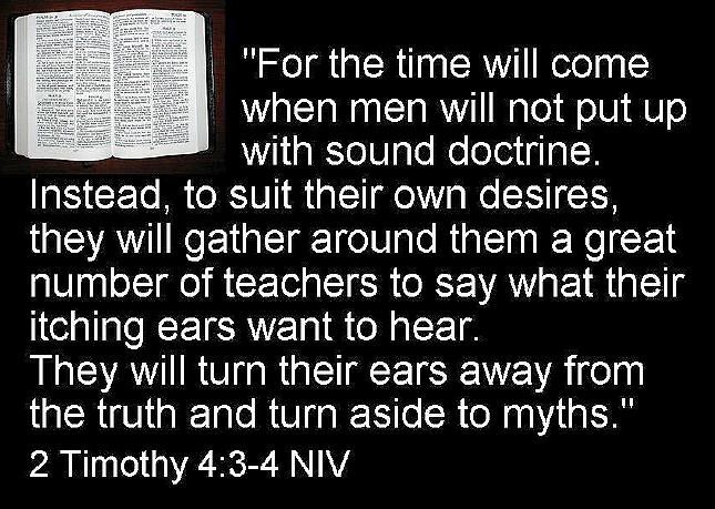 2 timothy 3 4 the dangers of