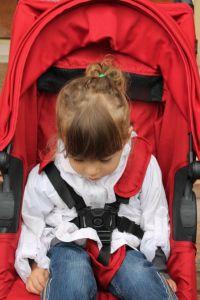 prove su strada al parco per il passeggino di #babyjoggeritalia #cityminiZIP