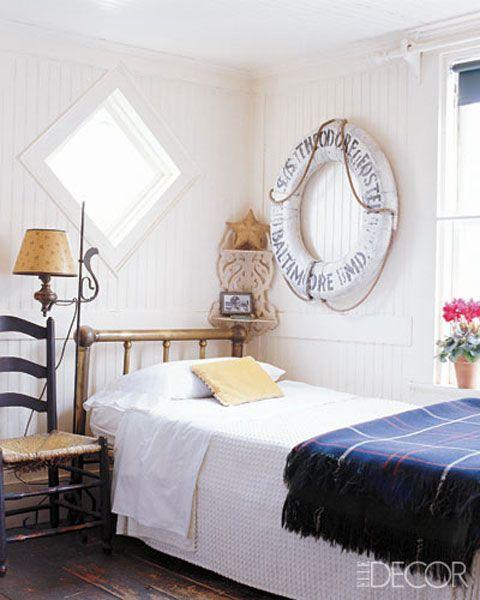 Elle decor nautical bedroom inspiration nautical for Elle decor bedroom ideas