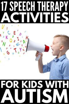 How to help a speech delayed child | Whether you're the parent of a child with nonverbal autism, a teacher looking for speech therapy ideas to help with letter sounds & articulation, in need of PECS communication resources, or need help developing your little one's WH questions, we've rounded up 32 tips & activities to get you started. From speech therapy activities to free PECS communication boards for kids with autism to other fun activities for nonverbal children, this is a great…