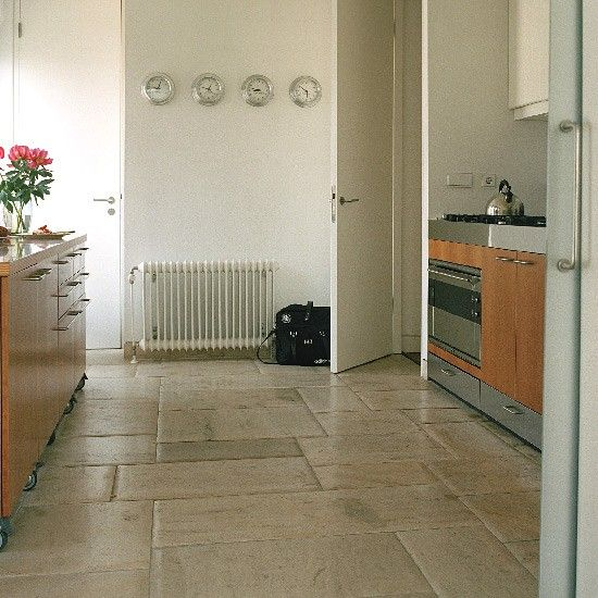 Stone Floor Tiles, Nice Tumbled Travertine Look, Would Lay