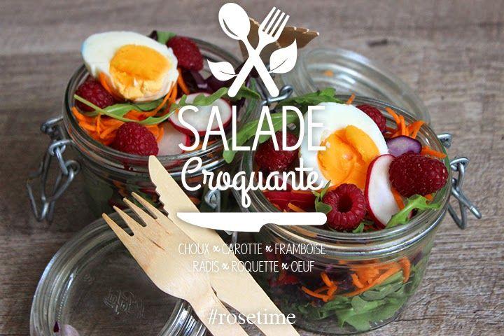 Salade croquante pour pique-nique léger