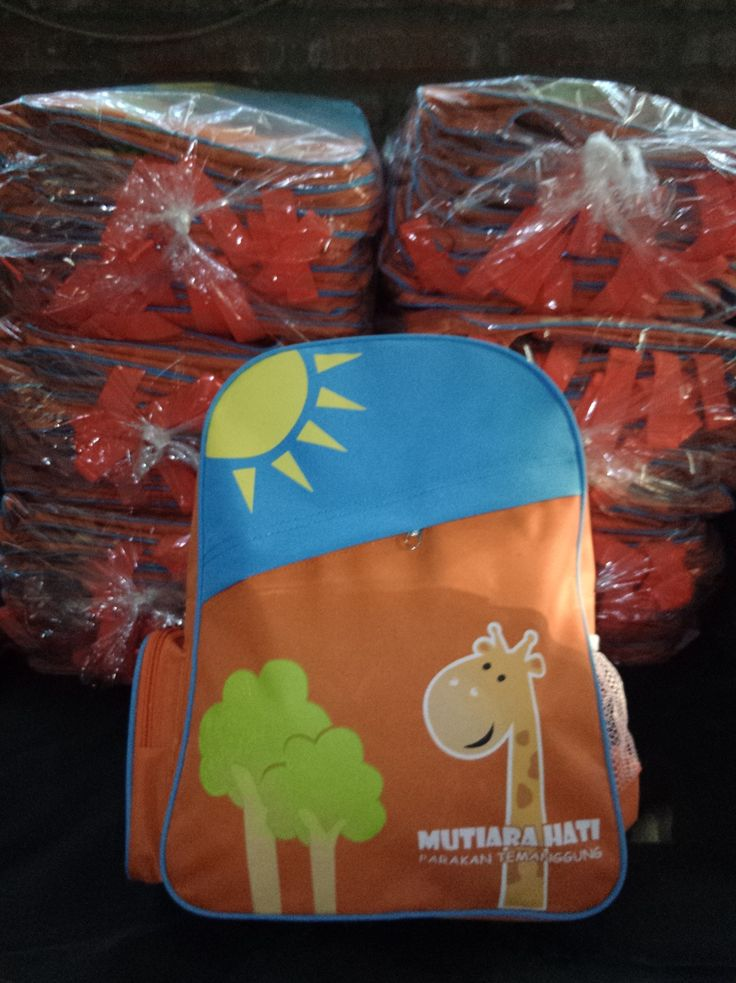 Tas ransel seragam anak-anak. GRATIS ONGKIR