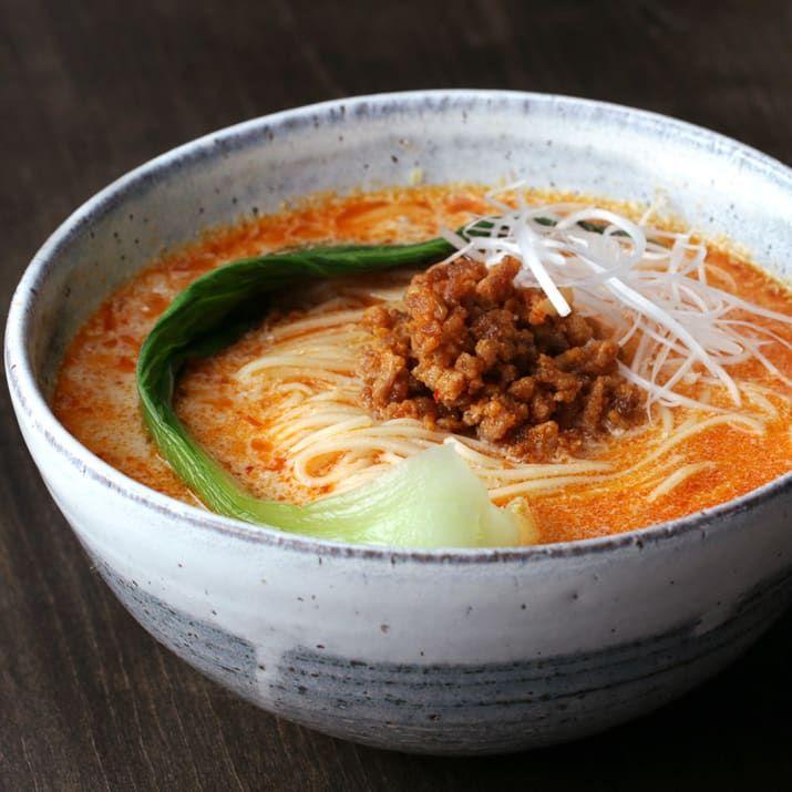 お仕事おわりのお疲れごはん♪ うまから豆乳担々麺  Easy Dandan Noodles