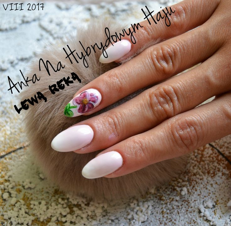 https://www.facebook.com/AnkaNaHybrydowymHaju/  #paznokcie #pazurki #manicure #hybrydy #AnkaNaHybrydowymHaju #Nails     #Nailart #wzorek #wzorki #kwiatek #kwiatki #floer #flowers #acrylpaint #farbki #akrylowe #farbkiakrylowe